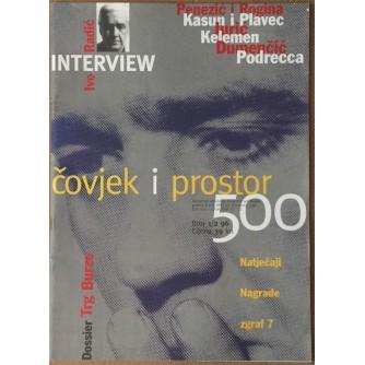 ČOVJEK I PROSTOR : MJESEČNIK UDRUŽENJA HRVATSKIH ARHITEKATA BROJ 1/2 1996.